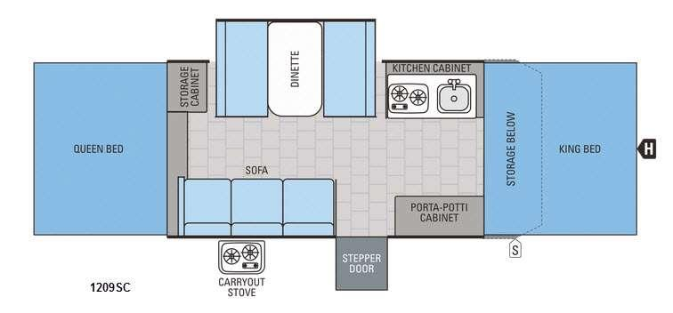 Jay Series 1209SC Floorplan Image