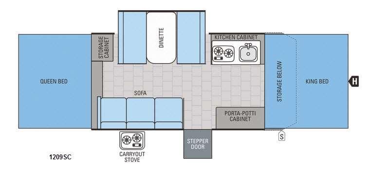 Jay Series 1209SC Floorplan Image
