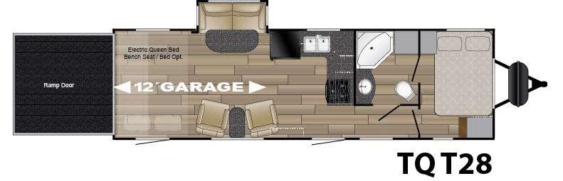 Floorplan - 2016 Heartland Torque XLT TQ T28