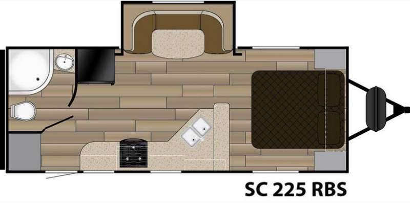 Floorplan - 2016 Cruiser Shadow S-225RBS