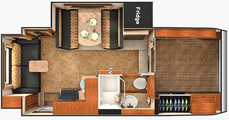 Floorplan - 2016 Lance 1172
