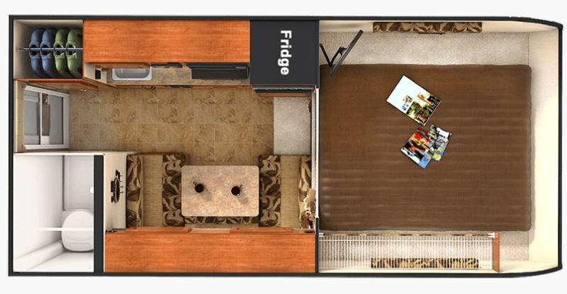 Floorplan - 2016 Lance 825
