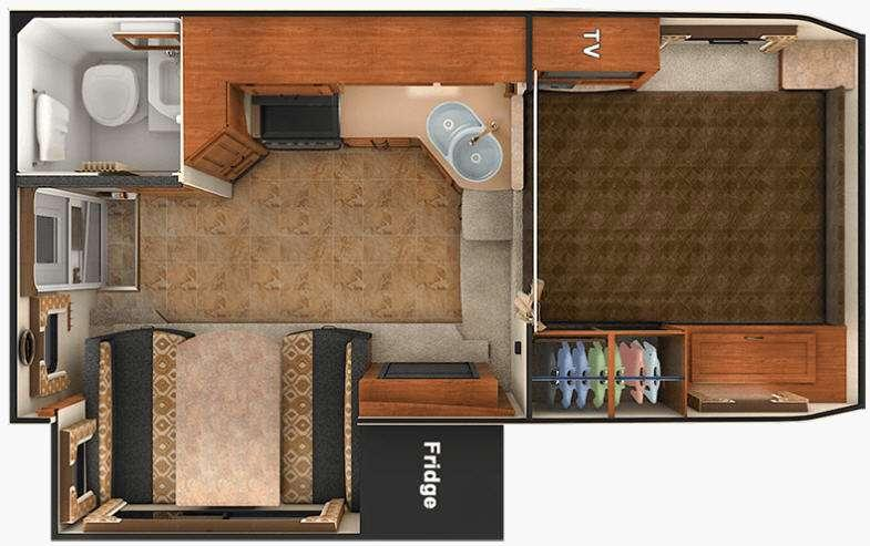 Floorplan - 2016 Lance 995