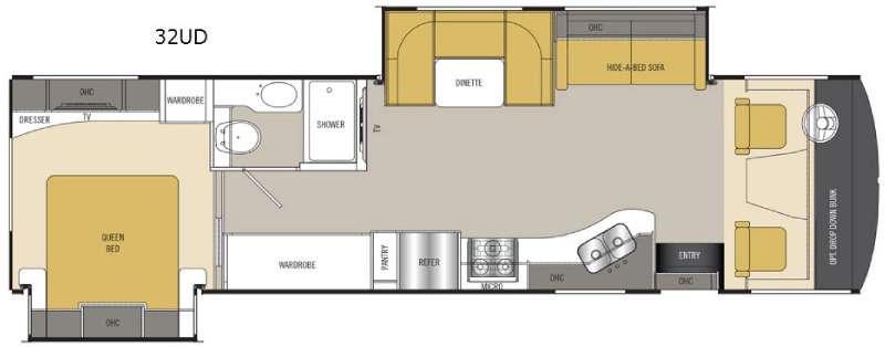Mirada 32UD Floorplan Image