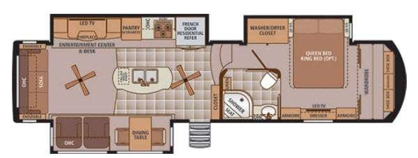 Trilogy 36RL Floorplan Image