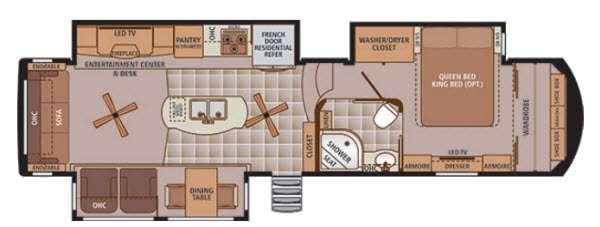 Trilogy 36RL Floorplan Image