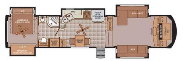 Trilogy 38FL Floorplan Image