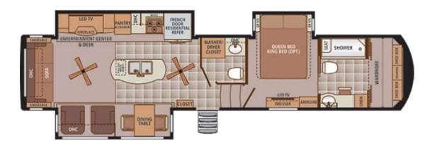 Trilogy 39FB Floorplan Image