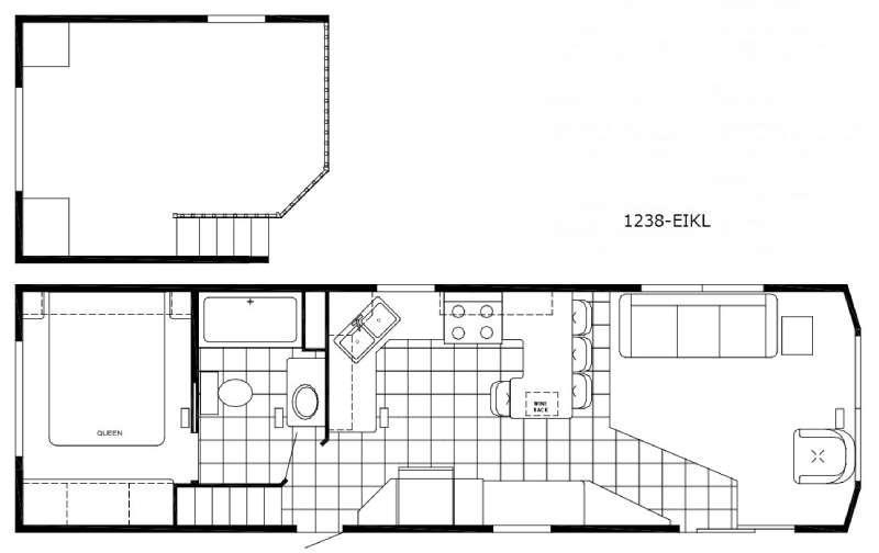 Floorplan - 2015 Canterbury Parkvue 1238-EIKL