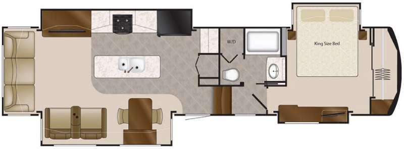 Floorplan - 2016 DRV Luxury Suites Elite Suites 38 RSSA
