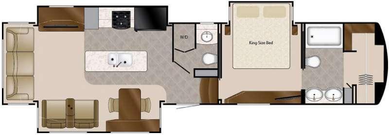 Floorplan - 2016 DRV Luxury Suites Elite Suites 39 DBRS3