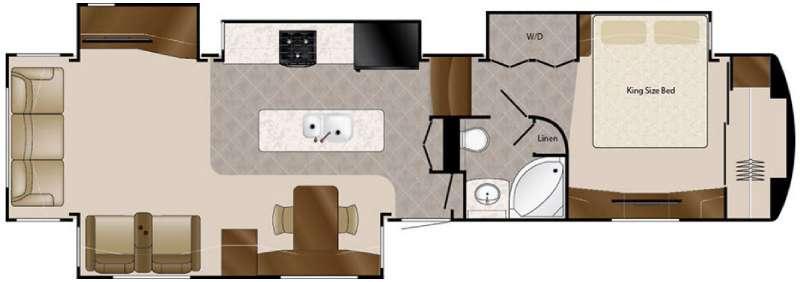 Floorplan - 2016 DRV Luxury Suites Elite Suites 41 RSSB4