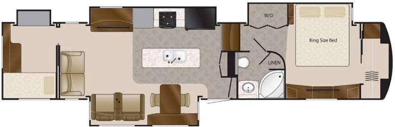 Floorplan - 2016 DRV Luxury Suites Elite Suites 43 Atlanta