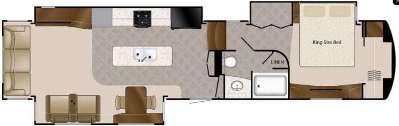 Floorplan - 2016 DRV Luxury Suites Elite Suites 43 Naples