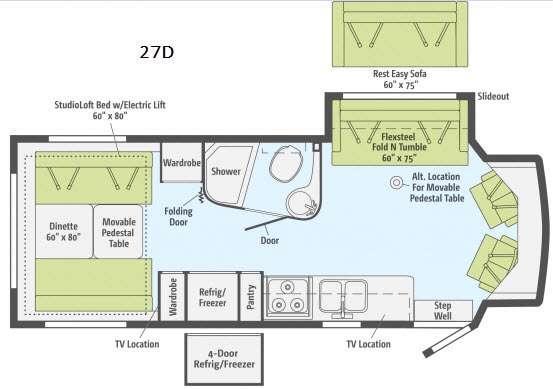 Cambria 27D Floorplan Image