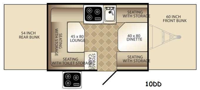 Basecamp 10DD Floorplan Image