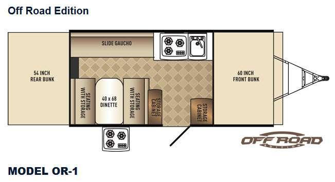 Basecamp OR-1 Floorplan Image