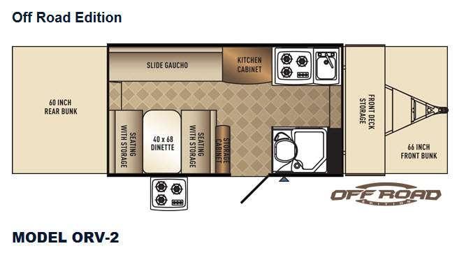 Basecamp ORV-2 Floorplan Image