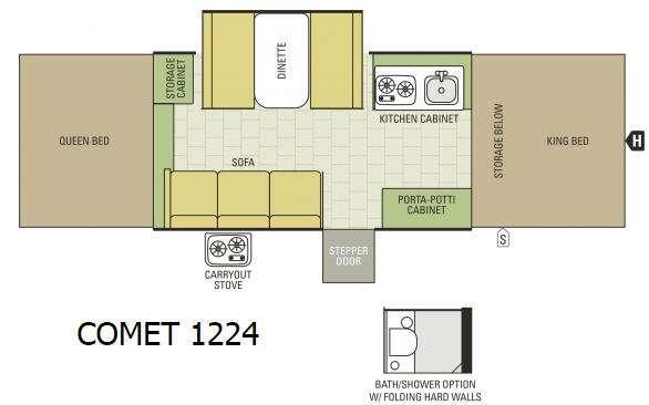Comet 1224 Floorplan Image