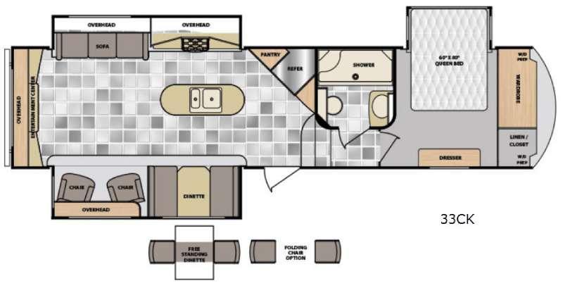 Latitude 33CK Floorplan Image
