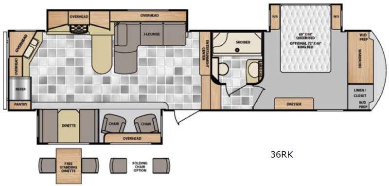 Latitude 36RK Floorplan Image