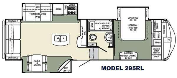 Floorplan - 2016 Palomino Columbus F295RL