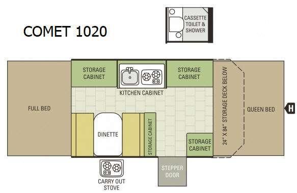 Comet 1020 Floorplan Image