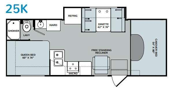 Augusta 25K Floorplan Image