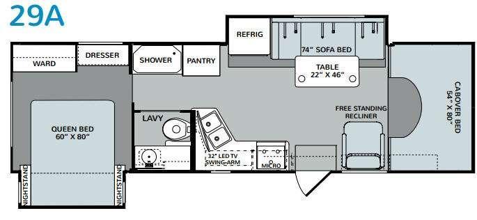 Augusta 29A Floorplan Image