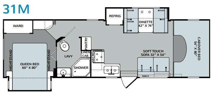 Augusta 31M Floorplan Image