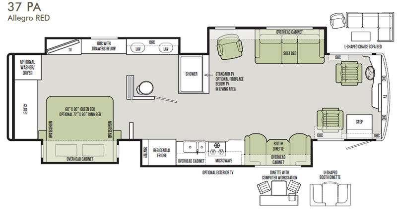 Allegro RED 37 PA Floorplan Image