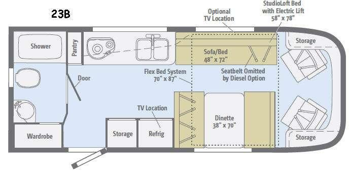 Trend 23B Floorplan Image