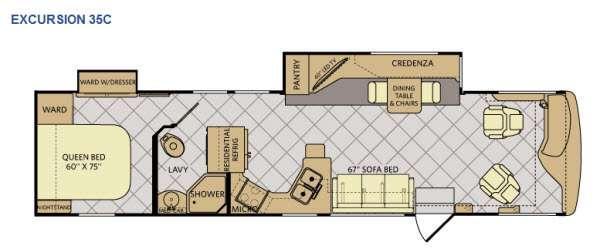 Excursion 35C Floorplan Image