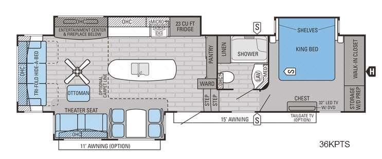 Pinnacle 36KPTS Floorplan Image
