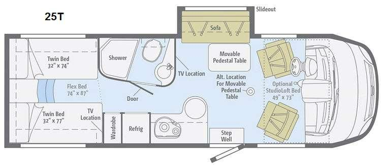 Reyo 25T Floorplan Image
