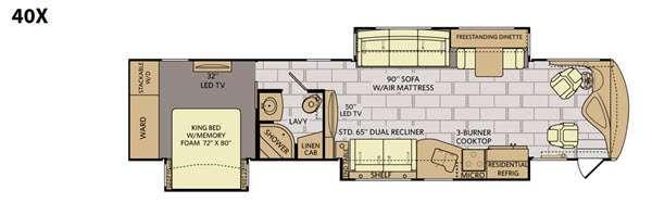 Discovery 40X Floorplan Image