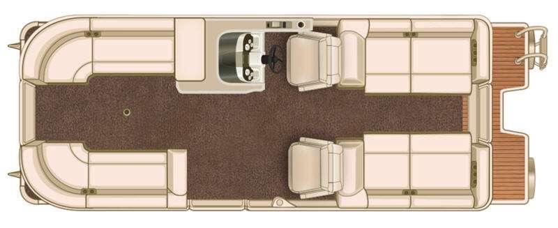 Floorplan - 2016 Sylvan S Series S3 Extreme