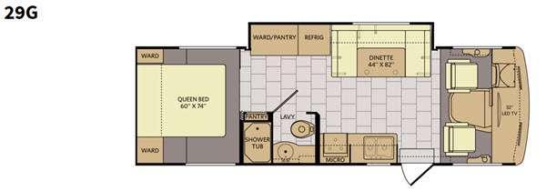 Floorplan - 2016 Fleetwood RV Terra SE 29G