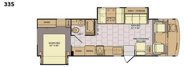Terra SE 33S Floorplan Image