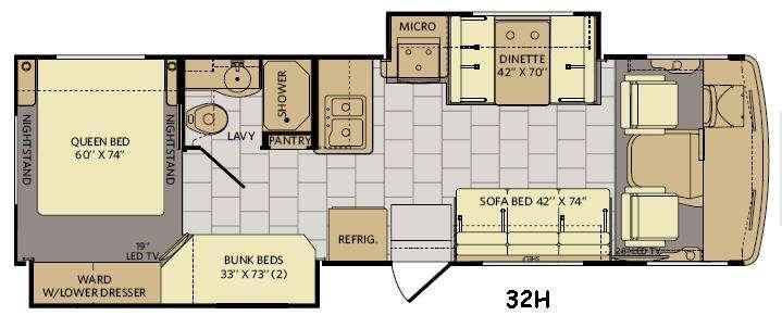 Storm 32H Floorplan Image