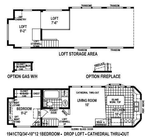 Floorplan - 2016 Skyline Shore Park 1941CTQ