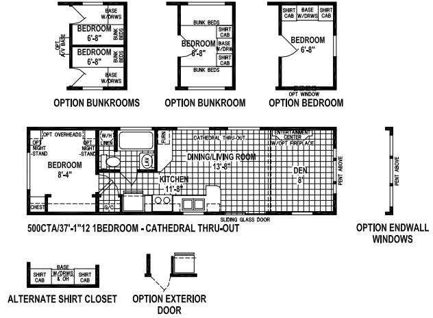 Stone Harbor 500CTA Floorplan Image