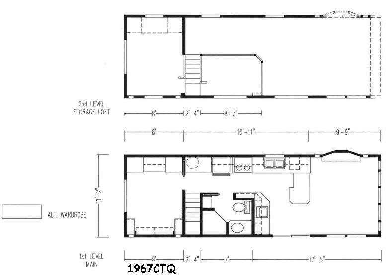 Floorplan - 2016 Skyline Shore Park 1967CTQ