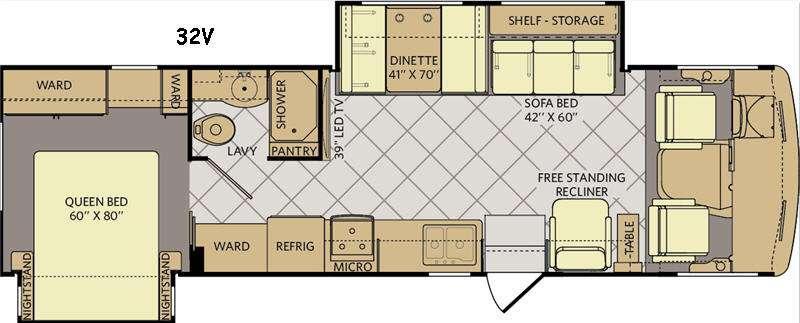 Storm 32V Floorplan Image