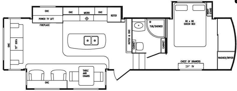 Floorplan - 2016 DRV Luxury Suites Tradition 360RSS