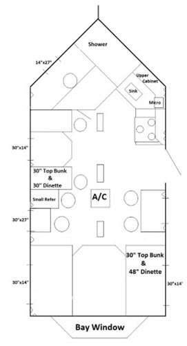 fish house floor plans