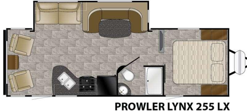 Floorplan - 2016 Heartland Prowler Lynx 255 LX