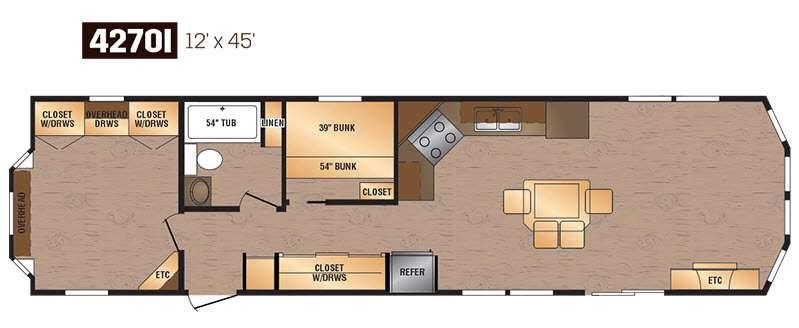 Floorplan - 2016 Kropf Industries Canadian Series 4270I