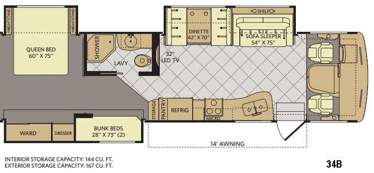 Terra 34B Floorplan Image