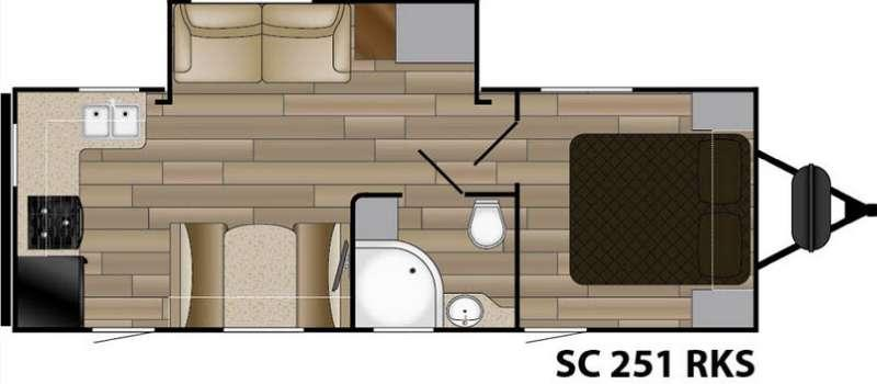 Floorplan - 2016 Cruiser Shadow S-251RKS